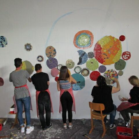 Polka Dots - Mosaik Werkrealschule Merklingen Klasse 10