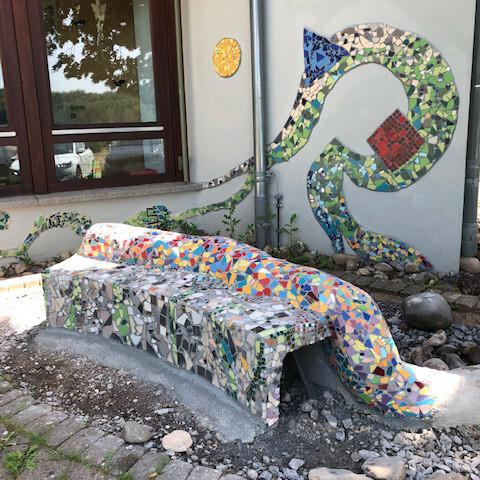 Mosaikprojekt Grundschule Hausen, Klasse 1-4