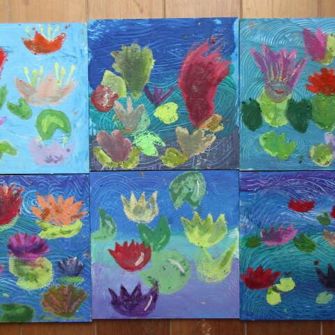 Zuckerkreide: Malen wie Claude Monet