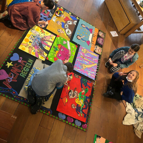 Schulaktion: Mensaregeln nach Rizzi
