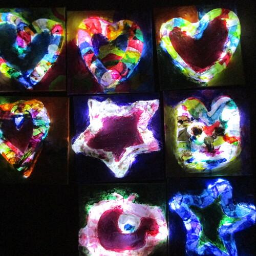 Leuchtbilder