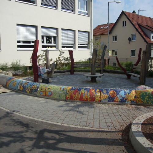 Mosaikprojekt Grundschule Merklingen, Klasse 4