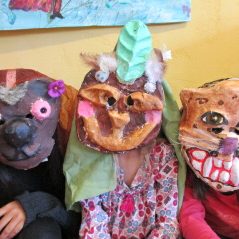 Maskenbau: Tiere