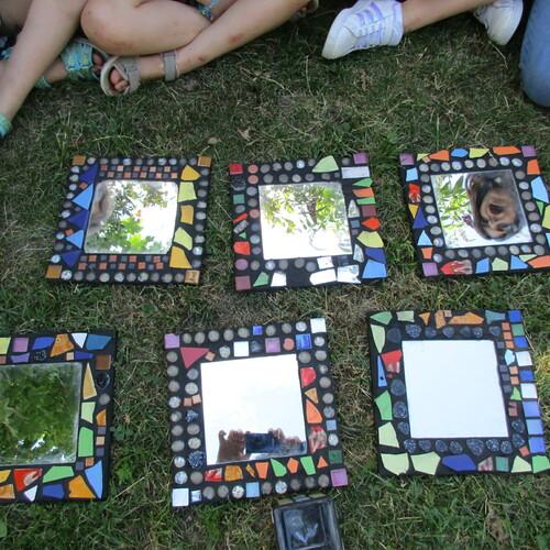Niki de Saint Phalle: Spiegelmosaik