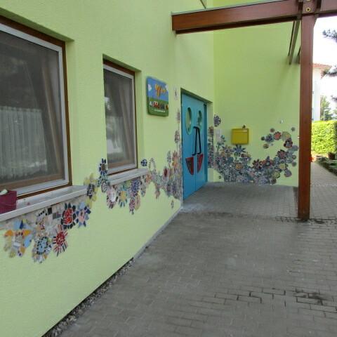 """Mosaikprojekt Kita """"Liebenzeller Weg"""" in Magstadt"""