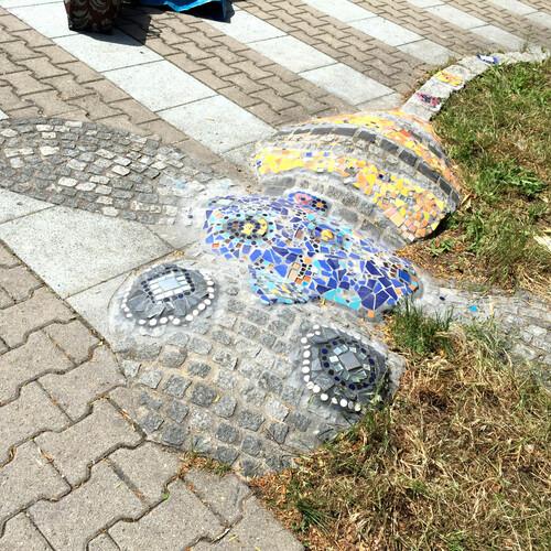 Mosaikgestaltung Kita in Böblingen