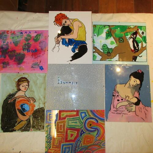 Wassily Kandinsky: Glasmalen